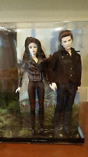 Barbie Twilight Breaking Dawn Part 2 Bella & Edward  Pink Label Collection MIB