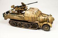 Sd.kfz.7  and Flak 37 pro-built 1/35 Tamiya+ Eduard German WW2