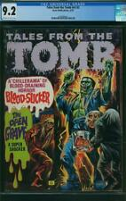 TALES FROM THE TOMB VOL 5 # 2 CGC 9.2 OWW P 2ND HIGHEST GRADED EERIE PUB 1973