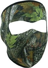 Zan Headgear Forest Camo Neoprene Snow Motorcycle Cold Weather Face Masks