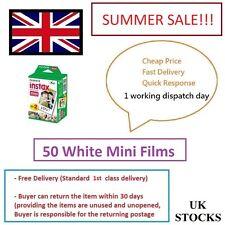 Fuji Fujifilm Instax Mini Película 50 Blanco Película Para FujiFilm Mini 7s/8/25/50/90/70