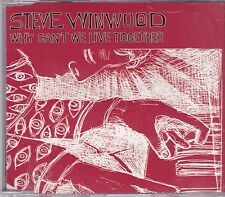 Steve Winwood-Why Cant We Live Together cd maxi single