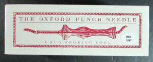 """Rug Hooking Tool THE OXFORD COMPANY Punch Needle #10-1/4""""-YJ5"""