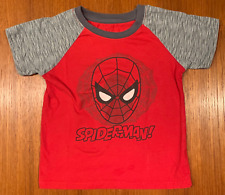 Boys 5T Spiderman T-Shirt Tee Kids Youth Size 5 Spider Man Good Condition