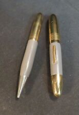 Vintage Small Purse Size Fountain Pen & Pencil Set, Not Tested, As Is