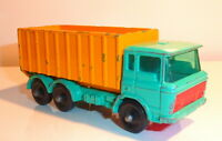 MATCHBOX LESNEY TIPPER CONTAINER TRUCK SERIES #47 MADE IN ENGLAND  SEE PHOTOS