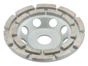 TRONGAARD DIAMANT SCHLEIFTELLER / SCHLEIFTOPF 125MM / 22mm TOPFSCHEIBE 125 #600