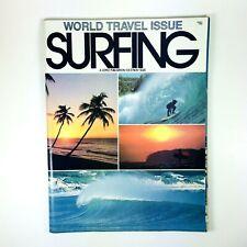 Vintage Magazine Surfing World Travel Issue Oct/Nov 1976 Volume 12 Number 5