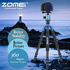 Professional Aluminium Camera Tripod Monopod Ball Head Travel for Digital Camera