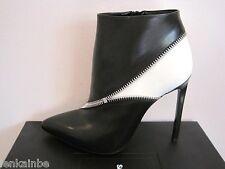 YSL Yves Saint Laurent Classic Paris Zipper Ankle Boots Booties 40.5 10.5 $995
