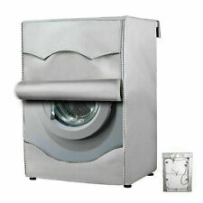 W20.5D21.3H34.6in Washing Machine Cover for Top Load Washer Dryer Covers Washing Machine Protector for Automatic Compact Washer Top Loading Balcony Lavadora Waterproof Dustproof Sunproof Oxford