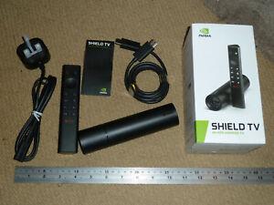 NVIDIA SHIELD TV 4K HDR ANDROID MEDIA STREAMER Dolby Vision Atmos Remote Alexa