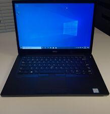 "Dell Latitude 7480 QHD Touch Screen.i7 7600U 2.8GHz 16GB 512GB SSD 14"" 2560x1440"
