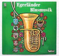 """Vinyl-12""""-LP # Blasorchester """"Egerländer Tradition"""" # Blasmusik # 1975 # vg+/vg"""