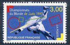 STAMP / TIMBRE FRANCE NEUF N° 3111 ** CHAMPIONNATS DU MONDE DE JUDO / SPORT