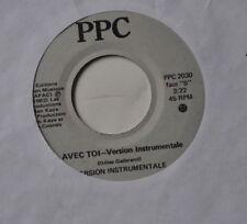 "JACQUES LEPAGE : Avec Toi 7"" Record PPC 1982 45 rpm"