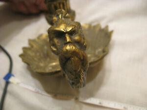 Vintage Solid Brass Candle Holder