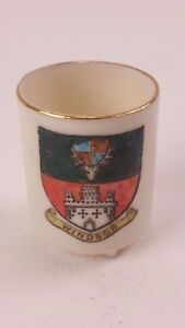 W H Goss Crested Cup or Mug Pub by Dyson & sons Windsor Crest FREE UK P&P