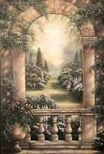 Rose Garden by Betsy Brown - Original Oil Painting