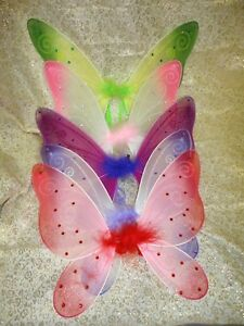 """1 piece Fairy Butterfly Wings Toddler Child Costume TOY GIFT HW-10; 14"""""""