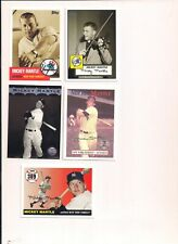 Mickey Mantle Baseball Insets (5)