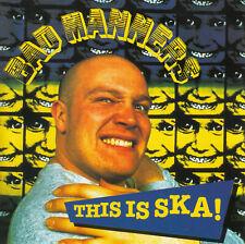 Bad Manners - This Is Ska! CD 1996 Reggae Ska