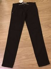 Zara Slim, Skinny, Treggings Cotton Blend Trousers for Women