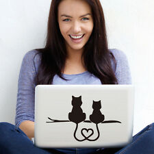 Love Of Cats Laptop Vinyl Sticker Lovely Notebook/Computer Adhesives Decal