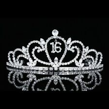Sweet 16 Birthday Party Princess Rhinestones Crystal Crown Tiara 7483