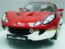 WOW EXTREMELY RARE Lotus Elise S2 Type 49 RHD Gold Leaf Red 1:18 Revell-Auto Art