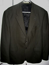 Mens Dark Olive RALPH LAUREN Lined Stretch Wool Suit 40 Short