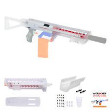 Worker MOD SIG MCX Pump Kit Clear 3D Print Grip Set for Nerf RETALIATOR Modified