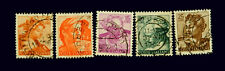 1962 Italian stamp /Designs of the Sistine Chapet by Michelangelo  /    Used