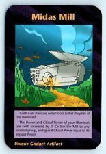 Illuminati New World Order INWO Assassins Card Game NWO Midas Mill Common