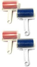 4x Abwaschbare Fusselrolle Entfussler Fusselentferner Kleiderroller Fusselrollen