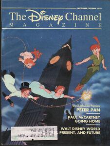 THE DISNEY CHANNEL MAGAZINE: September/October 1991 Peter Pan