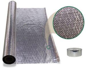 1000 sqft Diamond Radiant Barrier Attic Foil Reflective Insulation 4x250 w/ tape