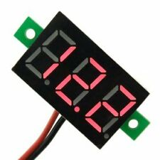 LED Mini 0.36 Voltmeter DC 4.7V - 30V Voltage Meter, Vehicles Motor Car Volt RED
