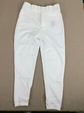 Mizuno Baseball Softball Pant Uniform White Belted Bottom Youth Boys Teen S 28W
