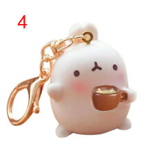 Kawaii Otato Bunny Pendant Cute Rabbit Keyring  Car Key Chain Decor Gift BLBD