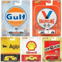 "Hot Wheels 2020 Pop Culture Dash H ""Fuel"" Series, 1/64 Diecast Cars, Set of 5"