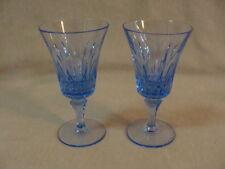 "MIKASA, Paris-Sapphire Pattern, 2 Wine Sherry Goblets Glasses. 5 3/8"""