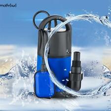 1HP Sump Pumps Submersible Water Pump Electric Transfer Water Pump Pool
