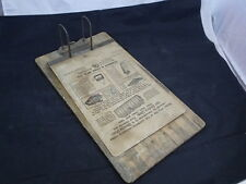 """Yawman & Erbe """"Shannon Arch"""" Bankers File Board  Pre - 1932"""