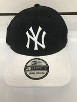 New Era 39thirty New York Yankees Hat Fitted MLB Cap Size S/M