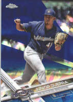 JUNIOR GUERRA 2017 TOPPS CHROME SAPPHIRE EDITION #98 ONLY 250 MADE