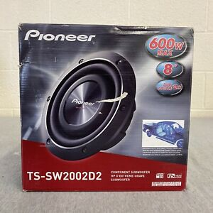 Pioneer TS-SW2002D2 1-Way 8 Inches Car Subwoofer