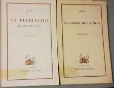 """2 Libros: """"Un Pueblecito"""" y """" La Cabeza De Castilla"""" - Azorín (1967-68)"""