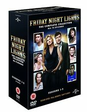 FRIDAY NIGHT LIGHTS COMPLETE SERIES SEASON 1 2 3 4 5 BOXSET REGION 4 DVD 1-5