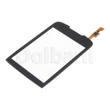 New Glass with Touch Screen Digitizer for Samsung CORBY II S3850 Black